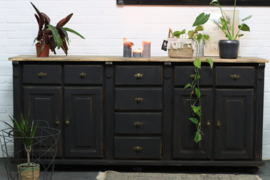 Dressoir vintage industrieel black
