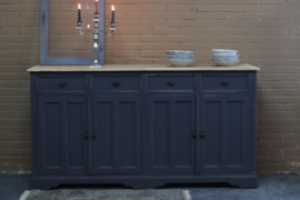 Dressoir vintage black industrieel