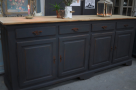 Dressoir Robuust industrieel black