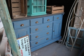 Dressoir blue brocante