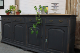 Dressoir industrieel chique black