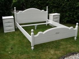 Bed Ledikant brocante style