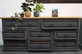 Toonbank / kast robuust warm Black