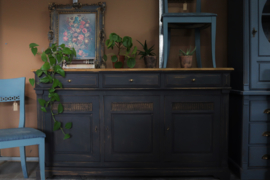 Dressoir industrieel vintage brocante