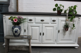 Dressoir wit brocante