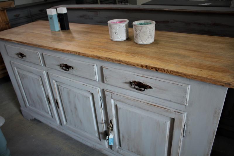Dressoir / keukenkast stoer grijs