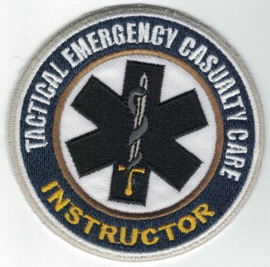 TECC badge /  INSTRUCTOR BADGE