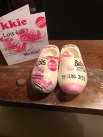 Geboorteklompjes Lois