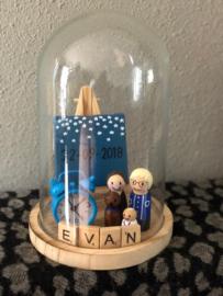 Kraamstolp / geboortestolp Evan