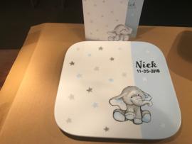 Geboorteservies Nick