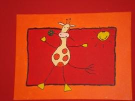 Girafje 30x40