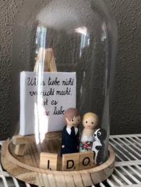 """Stolp voor huwelijk """" I do"""""""