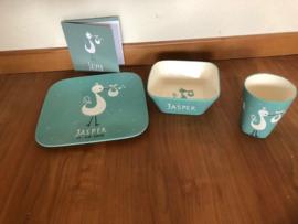 Geboorte servies Jasper