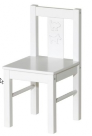 blanco stoeltje