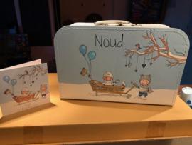 Geboortekoffertje Noud