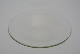 Glazen schaaltje voor oliebranders 4,5 Inch - 11 Cm
