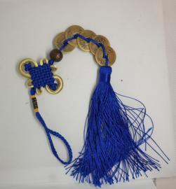 Lucky charm Hanger blauw.