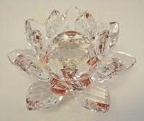 Kristal Lotus rood