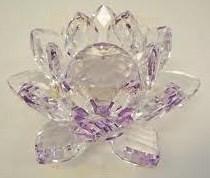 Kristal Lotus Paars