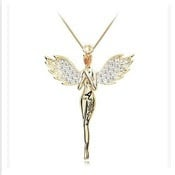 Angel wings Angel Gold Plated