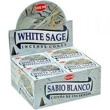 Cones HEM White sage