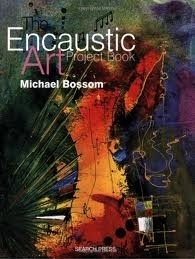 Project boek Encaustic art