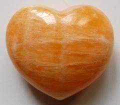 Hart oranje Calciet