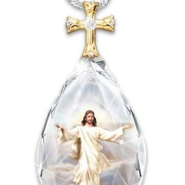Hanger Jezus traanvorm.