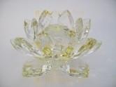 Kristal Lotus geel