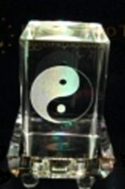 Laserblok Ying & Yang