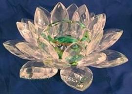 Kristallen Lotus theelicht