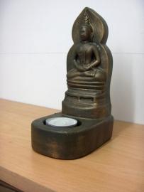 Theelicht houder Buddha