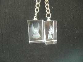 Sleutelhanger kristal Engel