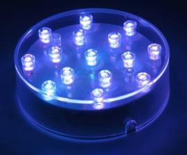 LED Plateau multicolor Inc. Batterijen