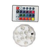 10-LED multicolor plateau