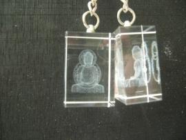 Sleutelhanger kristal Buddha
