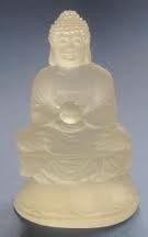 Kristallen Boeddha mat