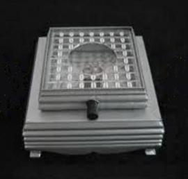 LED-Plateau Batterijen Color vierkant
