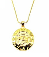 Eye of Horus Gold plated small