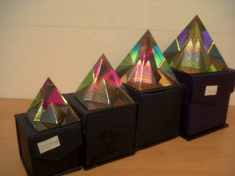 Pyramide in Pyramide compleet set