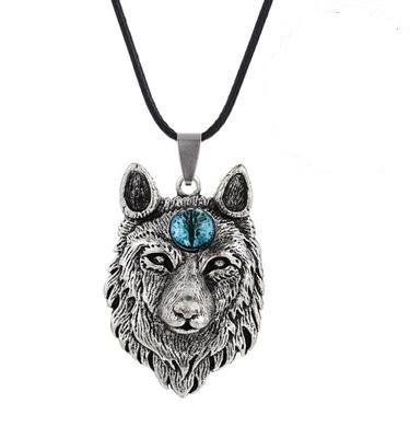 Viking Wolf met Saffier oog