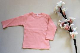 Baby shirt met tekst licht roze maat 62