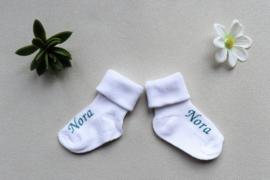 Baby sokken met naam