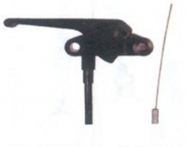 ontgrendeling motorkap/kofferbak