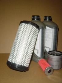 filterpakket met olie yanmar 2