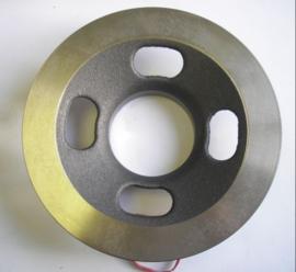 Remschijf  voorzijde 209mm  Aixam 6L028