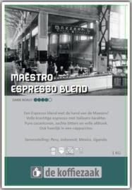 Maestro Original 1 kg  - huisblend (90% arabica - 10% robusta)