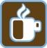 logo de koffiezaak pictogram