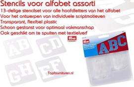 Sjablonen voor alfabet