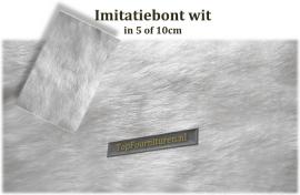 Imitatiebont wit 10cm breed